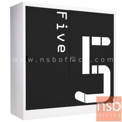 ตู้เสื้อผ้าเด็กเหล็ก บานเลื่อนเตี้ย 120H cm (เลือกพิมพ์ลายหมีหรือลายตัวเลขได้) รุ่น SDW-12 :<p>ขนาด 118.5W*40.7D*120H cm. / ภายในมี 2 แผ่นชั้นปรับระดับได้ มีกุญแจล็อค / ผลิต 2 ลายคือ ลายรูปหมี(B) และลายตัวเลข(N)</p>