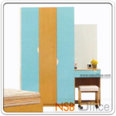 ชุดเตียงนอนเด็ก 3.5 ฟุต รุ่น DB-PLAM:<p>เตียงขนาด 114*210*91 ซม./ตู้เสื้อผ้าขนาด 120*56*200.5 ซม./โต๊ะเครื่องแป้งพร้อมสตูลขนาด 60*40*165.5 ซม./ผลิตสีบีช-ฟ้า</p>