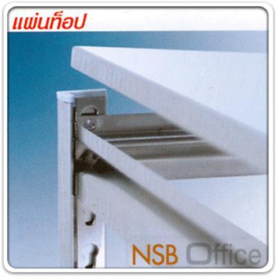 """ชั้นเหล็กสำนักงาน 121W*45D cm. (ทุกความสูง)  ระบบ Knock down ประกอบง่าย:<p>ขนาด 48W*18D นิ้ว (121W*45D cm.) ผลิตความสูง 4 ขนาดคือ 36, 55, 72 นิ้ว&nbsp;มีแผ่นชั้นตั้งแต่ 2, 3, 4 และ 5 แผ่นชั้น /โครงพร้อมแผ่นชั้นผลิตเหล็ก เกรดดี /ผลิต 2 สีคือสีดำ และสีขาว&nbsp;ระบบ Knock down ประกอบง่ายไม่ต้องใช้เครื่องมือ /เลือกแผ่นปิดข้าง ปิดหลัง กันตกได้ /&nbsp;<span>ขนาดที่ระบุเป็นขนาดเฉพาะแผ่นชั้น ขนาดพื้นที่ในการจัดวางรวมเสา +2 cm</span></p> <p><br /><span style=""""text-decoration: underline; color: #ff0000;"""">พิเศษ</span> แผ่นชั้นปรับระดับได้ด้วยระบบกระดุมล็อค ไม่ต้องใช้สกรูน็อต /&nbsp;สามารถติดตั้งล้อเพิ่มได้ ดูจากรหัส <a href=""""http://www.nsboffice.com/productdetail-gid-5480.aspx"""">G12A027</a> และ <a href=""""http://www.nsboffice.com/productdetail-gid-5481.aspx"""">G12A028</a></p>"""