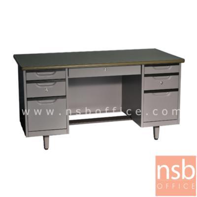โต๊ะทำงานเหล็ก 7  ลิ้นชัก 4.5 ฟุต และ 5 ฟุต รุ่น WDE2654,WDE3060:<p>ผลิตความกว้าง &nbsp;2 &nbsp;ขนาด คือ 4.5 ฟุต , 5 ฟุต / &nbsp;ผลิต5 สีคือสีส้ม, สีม่วง, สีฟ้า, สีเขียว และสีเทาเข้ม</p>