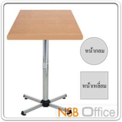 โต๊ะหน้าเมลามีน (เหลี่ยม/กลม) W60, W75 cm ขาเหล็ก 4 แฉกโครเมี่ยม:<p><span>สี่เหลี่ยมขนาด W60*D60, W75*D75&nbsp;</span><span>(*73H cm)&nbsp;</span><span>วงกลมขนาด Di60, Di75 (*73H cm) Top เมลามีน 25 มม. แบบกลมและแบบเหลี่ยม (ราคาเดียวกัน) / โครงขา</span><span>ผลิตจากเหล็กขา 4 แฉก ชุบโครเมี่ยม</span></p>