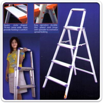 บันไดเอนกประสงค์แบบมีหูจับ CH17 (2-6 ขั้น คละสี):<p>ผลิตจากอลูมิเนียม พร้อมมือจับ คละสี น้ำหนักเบา พับเก็บง่าย สะดวกในการใช้งาน / มี 5 ขนาดคือ 2, 3, 4, 5 และ 6 ขั้น</p>