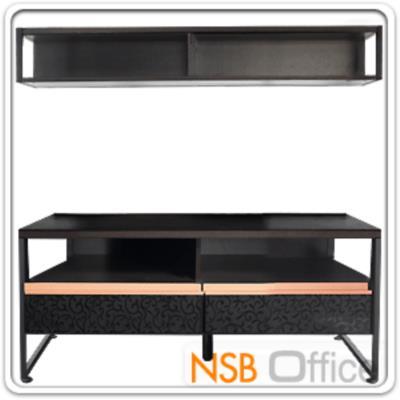 ชุดวางทีวีห้องนั่งเล่น 120W*40.4D cm. PL-SETS1โครงเหล็กพ่นดำ ไม้สีเวงเก้:<p>ผลิตจากไม้ปาร์ติเกิลบอร์ด เคลือบผิวไฮบริค โครงผลิตจากเหล็กพ่นดำ /หน้าบานลิ้นชักมีลวดลายสวยงาม ทันสมัย</p>