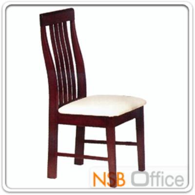 เก้าอี้ไม้ยางพารา ที่นั่งไม้หุ้มหนังเทียม รุ่น  FW-CNP2017:<p>ขนาด 47W*46D*97H cm.&nbsp; โครงเก้าอี้ทำจากไม้ยางพารา ที่นั่งบุฟองน้ำหุ้มหนังเทียม&nbsp;ผลิต 3 สี คือ สีบีช สีสัก และสีโอ๊ค</p>