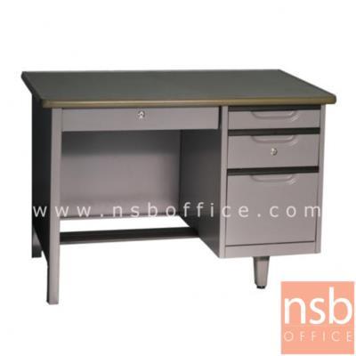 โต๊ะทำงานหน้าเหล็ก 4 ลิ้นชัก ยี่ห้อเวลโก(WELCO) ( 3.5 และ 4 ฟุต):<p>ความกว้างผลิต 3 ขนาด 3,3.5 และ 4 ฟุต&nbsp;</p>