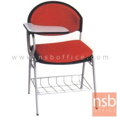 เก้าอี้เลคเชอร์โพลี่ มีตะแกรงวางของ รุ่น C580 ขาเหล็กพ่นสี:<p>ขนาด 59(W) * 70(D) * 82(H) cm. มี 2 รุ่นคือ โพลี่ล้วนและโพลี่หุ้มเบาะ / มีตะแกรงวางของใต้เก้าอี้ / ที่เขียนโฟเมก้าใหญ่ / ขาพ่นเทาหรือดำ / โพลี่ผลิต 5 สี คือ สีเทาเข้ม, สีม่วงตุ่น, สีฟ้าคราม, สีดำ และสีเขียวตุ่น</p>