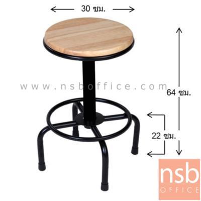 เก้าอี้บาร์หน้าไม้ยางสีธรรมชาติ รุ่น PJ-BAR-215 โครงเหล็กพ่นดำ (ผลิต 2 แบบคือแบบสูง และแบบเตี้ย):<p>ผลิต 2 ขนาดคือบาร์เตี้ย และบาร์สูง /โครงผลิตจากเหล็กพ่นดำ ที่นั่งผลิตจากไม้ยางสีธรรมชาติ</p>
