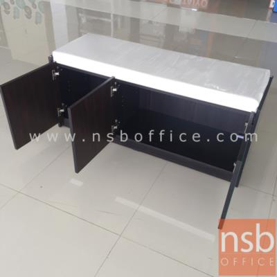 ตู้ 3 บานเปิดวางรองเท้า พร้อมเบาะรองนั่ง 120W*40D*50H cm:<p>ขนาด ก.120*ล.40*ส50 ซม. พร้อมเบาะรองนั่ง /ผลิตสีโอ๊ค-ขาว เบาะรองนั่งสีครีม (มีสต๊อก 5 ใบเท่านั้น)</p>