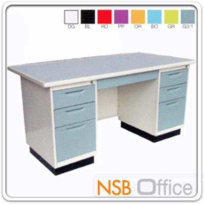 โต๊ะทำงานหน้าเหล็ก 7 ลิ้นชัก:<p>โต๊ะทำงานหน้าเหล็ก 7 ลิ้นชัก มี 2 ขนาด 4ฟุตครึ่ง และ 5 ฟุต</p>