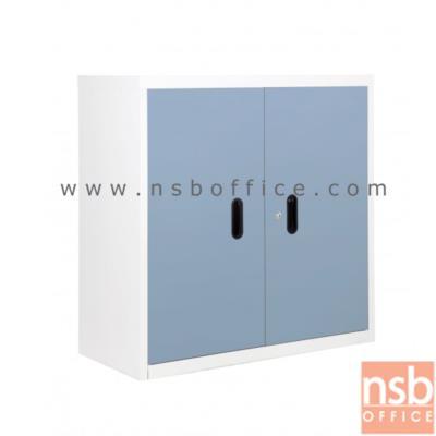 ตู้เหล็ก 2 บานเปิดเตี้ย 88W*40D*88H cm. BS-288 (เก็บของ หรือ วางรองเท้า):<p>88W*40.7D*88H cm. / Keylock /ผลิต 8 สี</p>