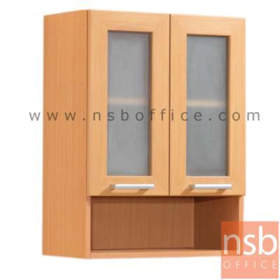 ตู้แขวนบานเปิดกระจก-ล่างช่องโล่ง สูง 80 ซม. รุ่น SR-WLM-G มือจับอลูมิเนียม:<p>มี 2 ขนาดคือ 60W*30D และ 80W*30D cm. /โครงตู้ปิดผิวด้วยเมลามีน ชนิดพิเศษทนความร้อนสูง ทนต่อรอยขีดข่วน และกรด ด่าง /ผลิต 2 สีคือสีบีช และสีโอ๊ค</p>