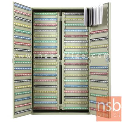 ตู้เก็บกุญแจ 1170 ดอก พร้อมพวงกุญแจระบุหมายเลข  ระบบกุญแจล็อค รุ่น  B1170-AS:<p>ขนาด 73W*25D*130H cm.&nbsp; ที่แขวงกุญแจสามารถปรับระดับได้ น้ำหนักประมาณ 56 กก. สีครีม</p>