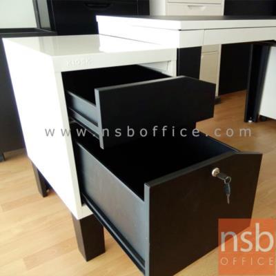 ตู้ข้าง 2 ลิ้นชักเสริมขา พร้อมกุญแจล็อค รุ่น KN-103 :<p>ขนาด 38.8W*56D*67.5H cm. สินค้าผลิตจากเหล็กอย่างดี ที่รับประกันความคงทน แข็งแรง ทำ 2 โทนสีคือสีดำ/ขาว และสีดำ/แดง **ดูรูปแบบSETได้ที่รหัส E22A013**</p>