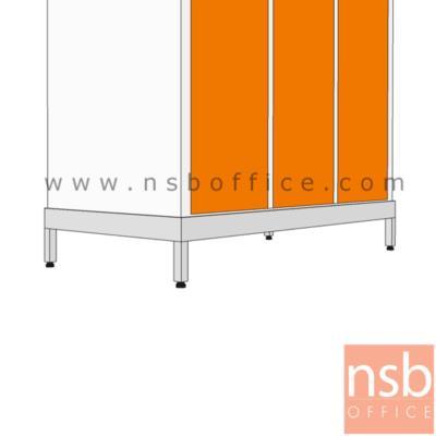 ฐานรอง 4 ขาตู้เหล็กสูง  (สำหรับตู้ขนาด 91.6W*45.7D cm.) :<p>-</p>