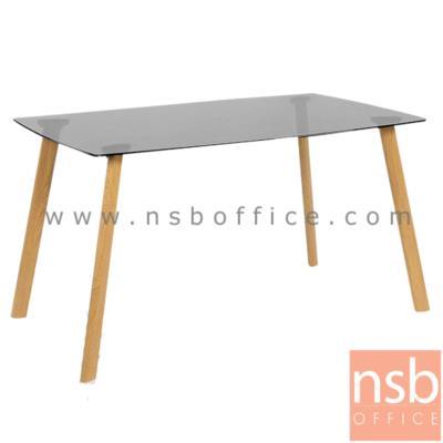 โต๊ะกระจก 130W*80D*75H cm. รุ่น SR-CGT1201 ขาเหล็กแลปปิ้ง:<p>ขนาด 130W*80D*75H cm.&nbsp;<span>&nbsp;หน้า TOP โต๊ะกระจกใสหนา 8 มม. เป็นกระจกนิรภัยให้ความปลอดภัยในการใช้งาน / ขาเหล็กแลปปิ้ง ทั้ง 4 ขา หนา 1.1 mm.</span><strong>**สินค้ารับน้ำหนักได้ไม่เกิน 30 กก.**</strong></p>