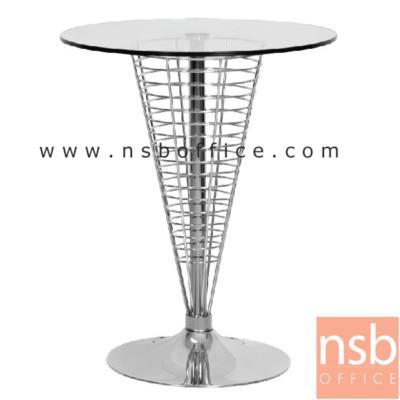 โต๊ะกระจกกว้าง 60 ซม  TG-07:<p>ขนาด 60W*60D*75H cm โครงโต๊ะเหล็กโมเดิร์นหน้ากระจก&nbsp;</p>