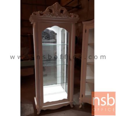 ตู้โชว์กระจกดาวน์ไลท์ 1 บานเปิด  รุ่น DSN-1230:<p><span>ภายในมี 3 แผ่นชั้น(4 ช่อง) แผ่นหลังเป็นกระจกเงา แผ่นข้าง-แผ่นหน้าเป็นกระจกใส&nbsp;</span></p>