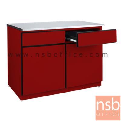 ตู้เหล็กวางเตาแก๊ส 2 ลิ้นชัก 2 บานเปิด TOP สแตนเลส รุ่น DOBBEL DB-202 :<p>ขนาด 100W*60D*75H cm. ผลิต 2 สี คือ สีแดงและสีขาว</p>