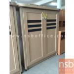 G05A051:ตู้เก็บรองเท้าไม้ 2 บานเปิด ขนาดกว้าง 92 ซม.  รุ่น STW-309L  (มีสต๊อก 8 ใบ : 3.10.59)