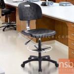 B02A069:เก้าอี้บาร์ที่นั่งเหลี่ยมล้อเลื่อน รุ่น EL-1911H  โช๊คแก๊ส ขาพลาสติก