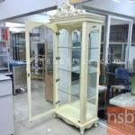 G06A047:ตู้โชว์กระจกดาวน์ไลท์ 1 บานเปิด  รุ่น DSN-1230