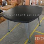 A25A006:โต๊ะประชุม  120W cm. โครงขาเหล็ก