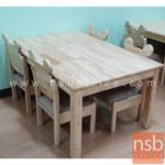 A17A090:โต๊ะกิจกรรมเด็ก รุ่น VICTORIA (วิกตอเรีย) ขนาด 120W cm.