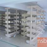 D01A006:ชั้นห้องสมุด 6 ชั้นแบบ 2 ตอน 1873W*498D*1969H mm