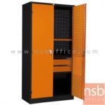 E08A068:ตู้เก็บเครื่องมือช่าง 2 บานเปิดสูง 91.6W*45.7D*183H cm.