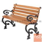 เก้าอี้สนามไม้เต็ง เหล็กหล่อ กทม. BKK-CO43 (100, 120, 150, 200 cm)