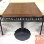 A14A167:โต๊ะหน้าไม้ MDF รุ่น DGZT-T366  60W cm. โครงเหล็กทำสี