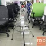 L02A308:เก้าอี้สเตนเลสล้วน รุ่น NSB-CHAIR22 ขนาด 36Di*102H cm. (STOCK-1 ตัว)