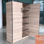 G05A065:ตู้เก็บรองเท้า 2 บานเปิด รุ่น FW-SH1 ขนาด 80W*122.5H cm. เมลามีน