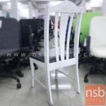 เก้าอี้โมเดิร์นหนังเทียม รุ่น NSB-CHAIR28 ขนาด 45W*95H cm.  โครงไม้ (STOCK-1 ตัว)
