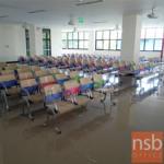 เก้าอี้นั่งคอยเฟรมโพลี่ รุ่น B126 2 ,3 ,4 ที่นั่ง ขนาด 105W ,164W ,215W cm. ขาเหล็ก