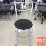 เก้าอี้โมเดิร์นหนังเทียม รุ่น NSB-CHAIR8 พิงหลังตรงกลางลายผีเสื้อ (STOCK-1 ตัว)