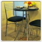 B20A050:เก้าอี้อเนกประสงค์ที่นั่งหุ้มหนังเทียม รุ่น LIVE ขาชุบโครเมี่ยม