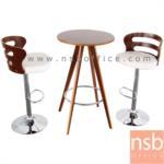 B09A172:ชุดโต๊ะเก้าอี้ไม้ รุ่น TNP-N2701BNP-E8302