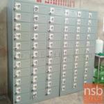 ตู้ล็อกเกอร์เหล็ก 33 ประตู  รุ่น Estefan (เอสเตฟาน) ขนาด 94.5W cm. ระบบกุญแจล็อค