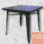A09A116:โต๊ะโมเดิร์น  รุ่น FTS-LDST808  ขนาด 80W cm.  โครงเหล็ก