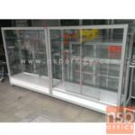 G06A016:ตู้โชว์สินค้ามีล้อ โครงอลูมิเนียมล้วน สูง 130 ซม.