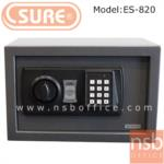F03A019:ตู้เซฟดิจตอล SR-ES820  น้ำหนัก 4 กก. (1 รหัสกด / ปุ่มหมุนบิด)
