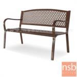 G08A287:เก้าอี้สนามเหล็ก รุ่น Madison (เมดิสัน)  พนักพิงลายฉลุ