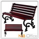 เก้าอี้สนามไม้เต็ง เหล็กหล่อ กทม. BKK-CO1-4 (100, 120, 150, 200 cm)