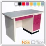 E22A009:โต๊ะทำงานหน้าเหล็ก 4 ลิ้นชัก
