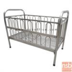 G12A122:เตียงเด็กสแตนเลส กว้าง 75 ซม. รุ่น QTS-420