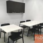 โต๊ะบาร์ COFFEE รุ่น Fitzgerald (ฟิตซ์เจอรัลด์) ขนาด 60W ,70W ,80W ,60Di ,70Di ,80Di cm.   ขาสแตนเลสฐานกลมแบน