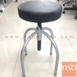 L02A321:เก้าอี้บาร์ที่นั่งหนังเทียม รุ่น NSB-CHAIR35 ขนาด 30Di*54H cm. โช๊คแก๊ส ขาอลูมิเนียม (STOCK-1 ตัว)