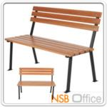 G08A039:เก้าอี้สนามไม้เต็ง เหล็กหล่อ กทม. BKK-CS10 (100, 120, 150, 200 cm)