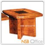 B13A145:โต๊ะกลางไม้ตีโครง HI-GLOSS รุ่น BC-CFF-1S ขนาด 60W*60D*47H cm.